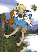 Peter and Wendy Colored by Shirekat