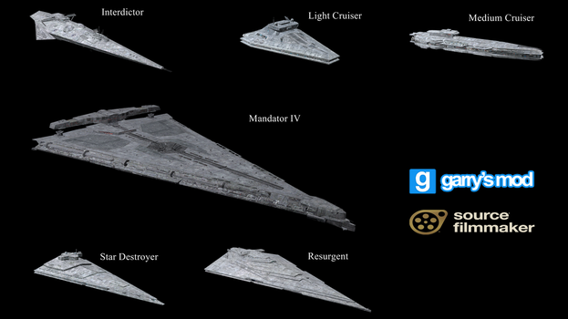 [DL] Star Wars EAW FOA First Order Ships by Stefano96