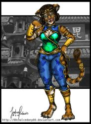 Tigress Fighter by 00chalcedony00