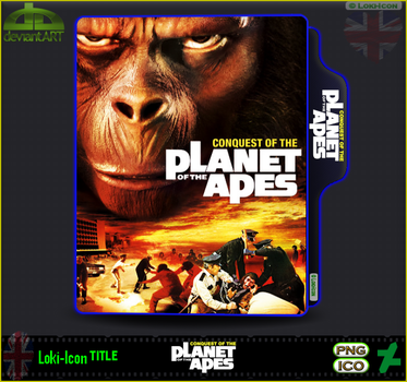 Planet Of The Apes 4 Conquest (1972) by Loki-Icon