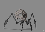 Skull spider by Just-a-drawing-Cat
