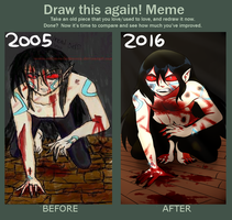 Draw This Again - not giving up by CalimonGraal