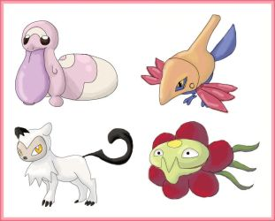 Pokemon fifth gen more pres by shinyscyther