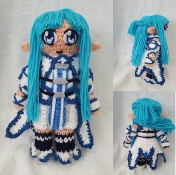 Crochet Amigurumi Asuna (season 2) by Maw1227