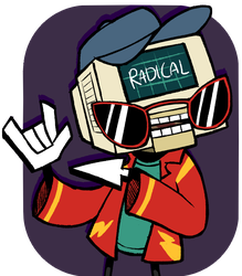 a radical guy by EdgyTriangle