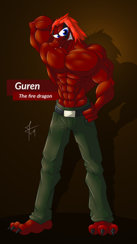 Trade - Guren, the fire dragon by McTaylis