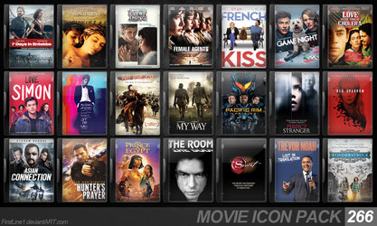 Movie Icon Pack 266 by FirstLine1