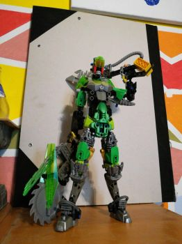 Bionicle MOC: wasteland THOR by Ennser