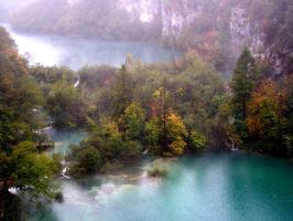 Plitvice Lakes I by Epistimon