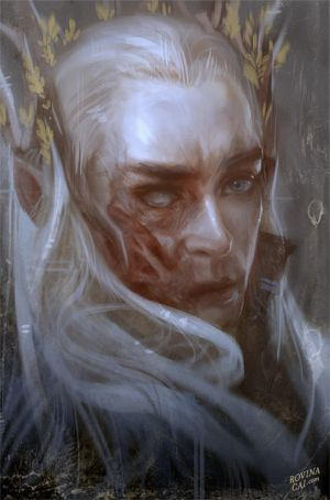 Thranduil x Elf!Reader| Dragon Fire by Xalath on DeviantArt