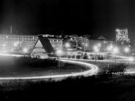 Oberhof By Night 001 by michaelelsaesser69