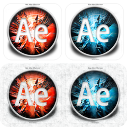 After Effects Icon by Net-Zone-Network