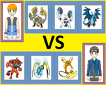 Pokemon Battle: Will vs Matt by WillDynamo55