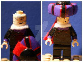 LEGO Frollo by AlongCameASpider