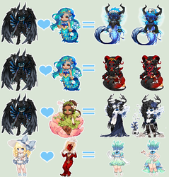 Breeding Results Group B: 3 by fickle-adopts