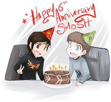 6 Years of Smosh by SkyDrew