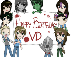 Happy Birthday VD by Heuring