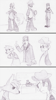 sketches of old idea by Sc0t1n4t0r