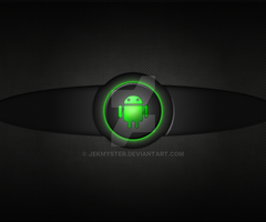 Green Glow Go Launcher Wallpaper by Jekmyster