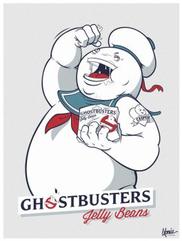 Ghostbusters Jelly Beans! by szlapa