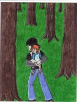 kevin levin and little gwen by AncientWonder