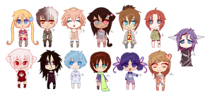 13 Humanoid Adoptables OTA {OPEN} by lol-adopts