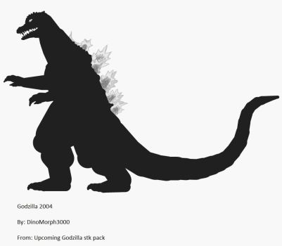 Godzilla 2004 stk(for upcoming pack by Dinomorph5000