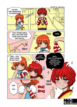 Sass and Trash : Red and White by ann-miyo