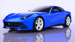 ferari berlinetta Blue by demonmem