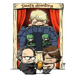 An Art A Day #094 - Death Stranding chibi poster by artofTZU