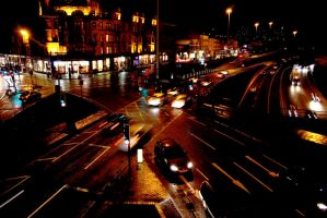 Glasgow Night by Catriona-Hoon