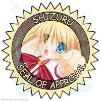 Shizuru Seal of Approval by SquallEC