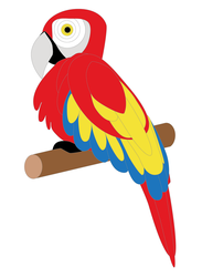 WIP - Parrot, Basic Color by KarynRH