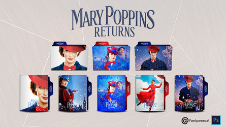 Mary Poppins Returns Folder Icon by faelpessoal