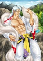 Sesshomaru by AsmodisArt