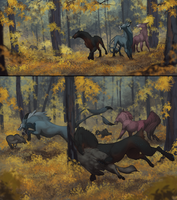 Fall Hunt by bolthound