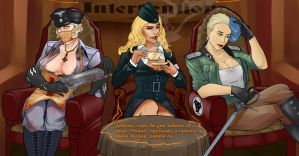 Intervention of poor nazi girls by VINTEM