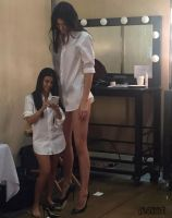 Kourtney and Kendall in changing room by lowerrider