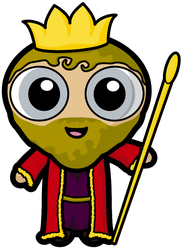 King Plufonious of Wontedshire by Dragavan
