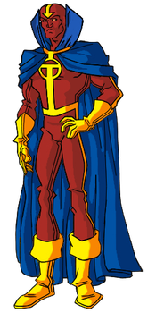 Red Tornado by Pax-Chi