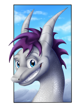 Dragon-fied - commission by IcelectricSpyro