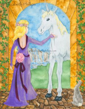 Lady and Unicorn by ElizabethPhillips