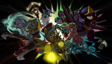 Guardians: The Ancient Seven (Shadow version) by glados64201