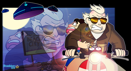 Biker Andy 2: Escape by RoseMary1315