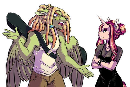 Creative Differences by Lopoddity