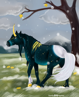 SS - First Snow - Ratan by Sandy--Apples