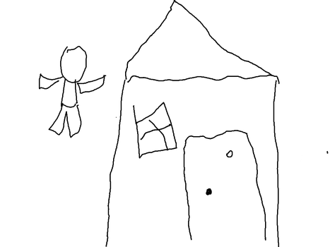 House (first tablet drawing) by MCocktail24