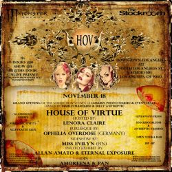 House Of Virtue Grand Opening by MarloMarquise