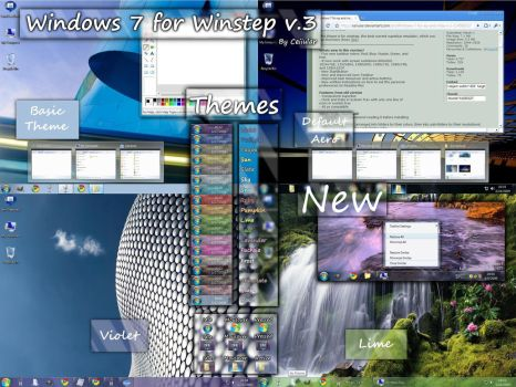 Win 7 for xp and vista v3.1 by CeIIular