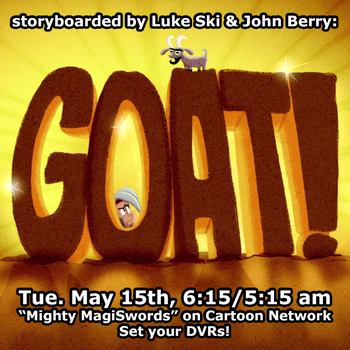 Mighty MagiSwords Goat promo by artbylukeski
